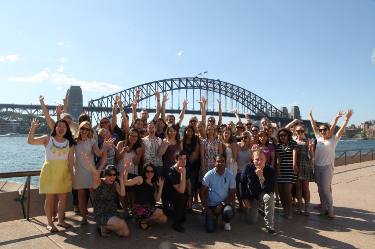 TA Team Photo, Sydney, NSW © Tourism Australia