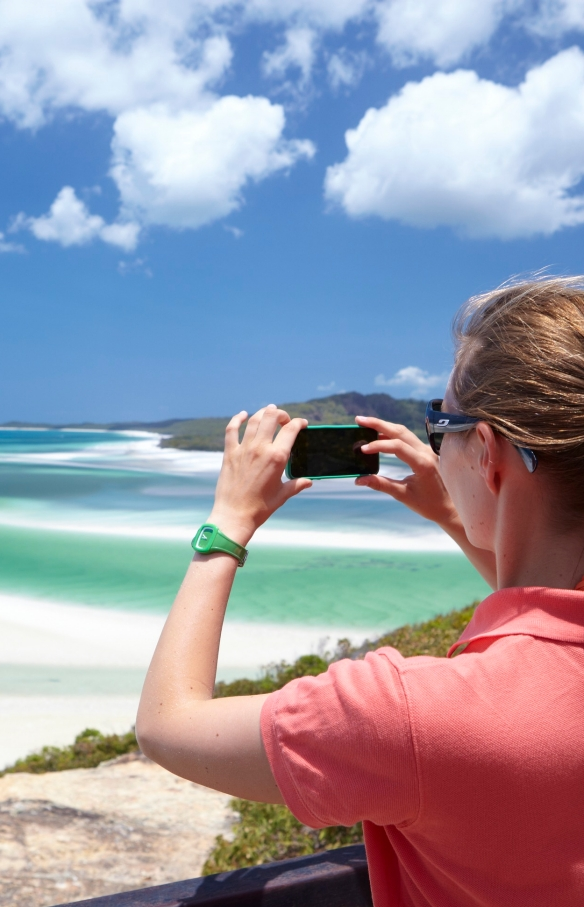 Best Jobs in the World campaign, Whitehaven Beach, Whitsunday Islands, QLD © Tourism Australia