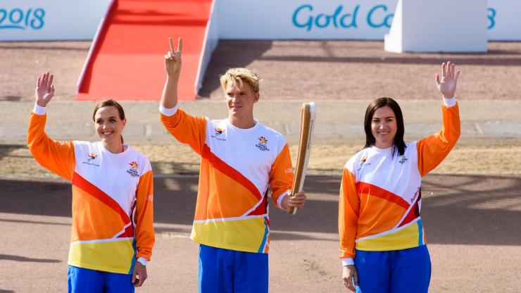Queen's Baton Relay Launch, London UK