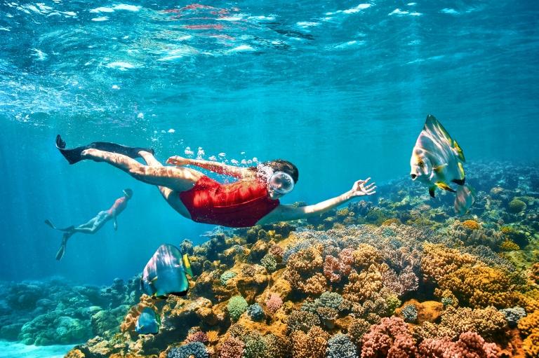 Great Barrier Reef, QLD © Tourism Australia