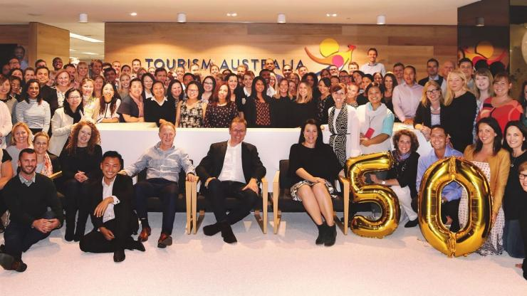 50 Years of Marketing Australia, Tourism Australia, SYD © Tourism Australia