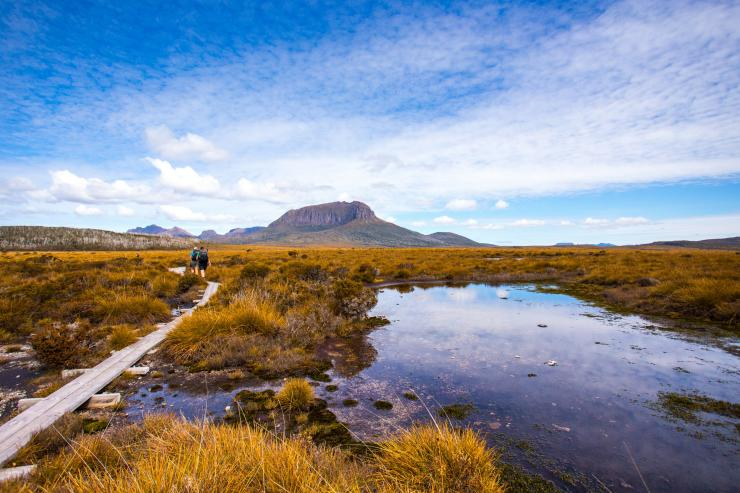 Cradle Mountain Huts Walk, Cradle Mountain-Lake St © Great Walks of Australia