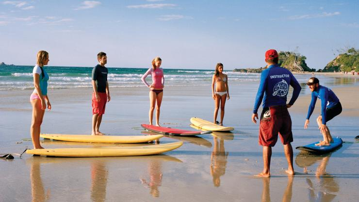 Byron Bay, NSW © Tourism Australia