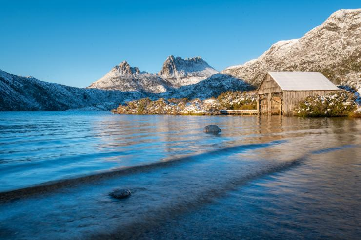 Cradle Mountain in snow © Paul Fleming