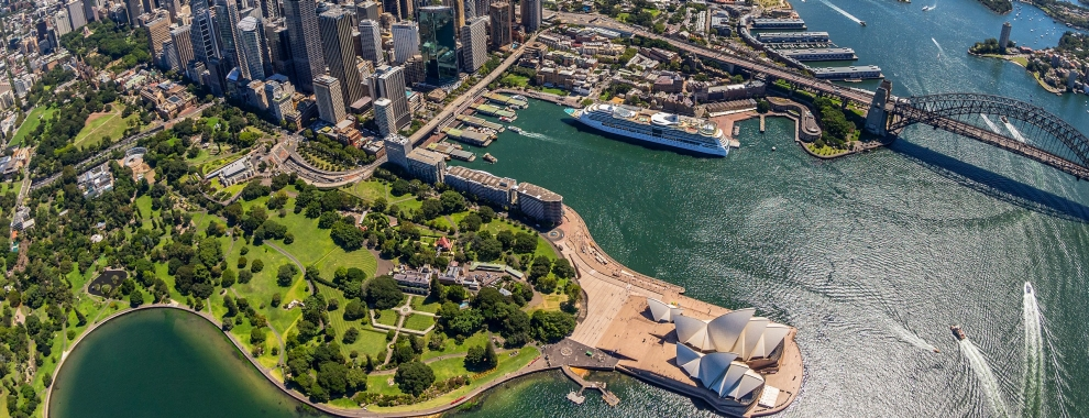 Sydney Harbour, NSW © Destination New South Wales