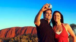Ayres Rock (Uluru) Northern Territory Aboriginal Culture Sunset