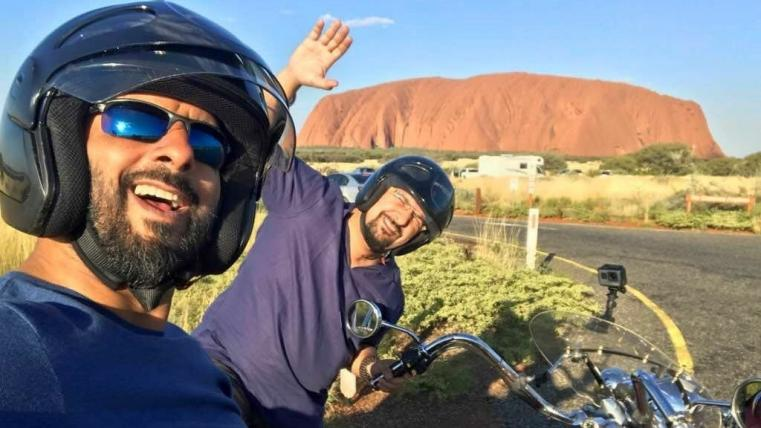 Rocky and Mayur in NT