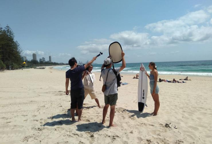 Queensland to feature on popular Japanese show © Tourism Australia