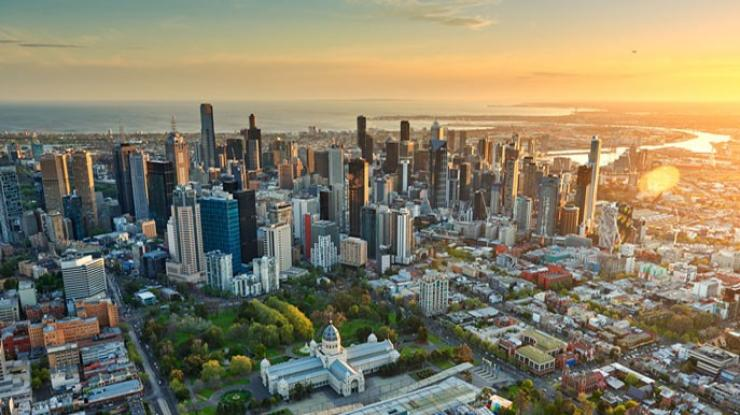 Melbourne Skyline, Vic