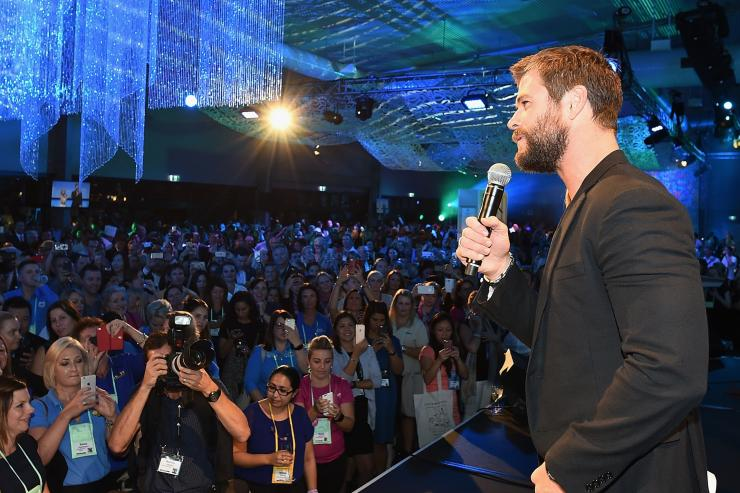 Chris Hemsworth, ATE 2016, Gold Coast, QLD. © Tourism Australia